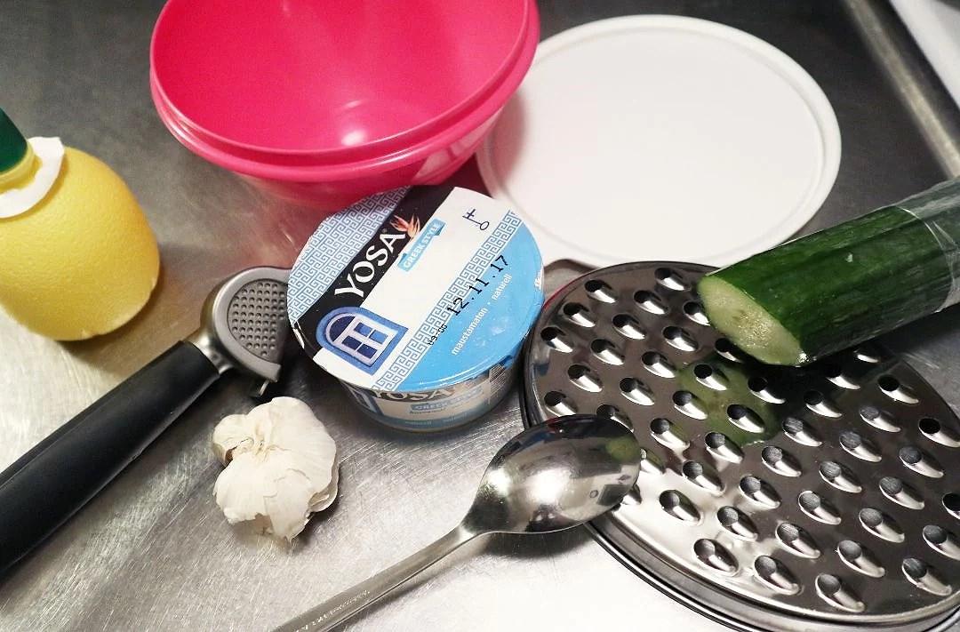 Vegansk tsatsiki recept