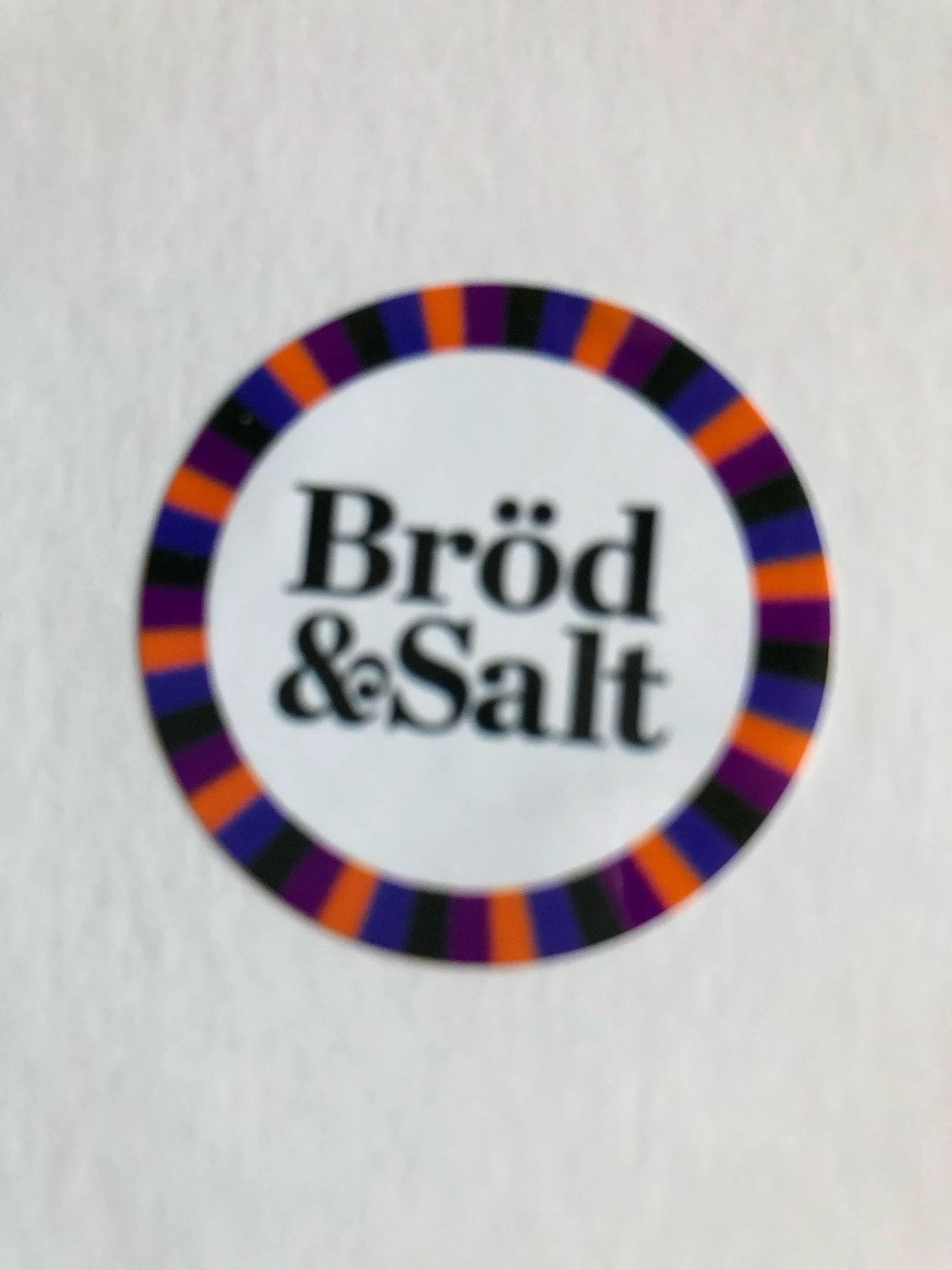 Bröd & Salt.