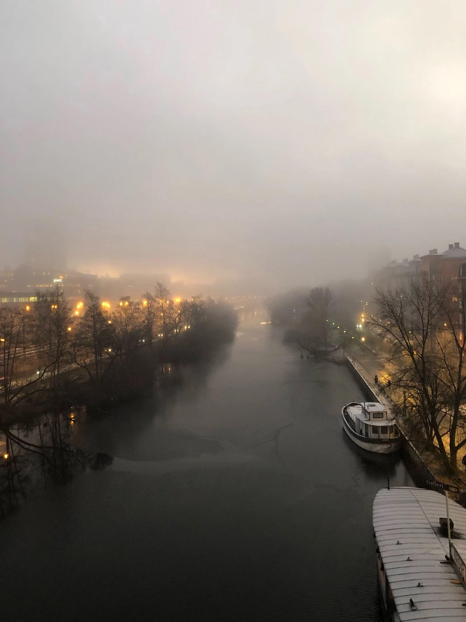 Magisk morgon.