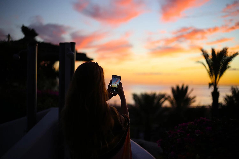 paradis plage agadir sunset