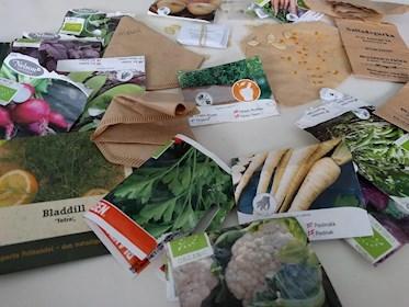 Erbjudande billiga fröer hos odla nu frön från wilmatomat och massor av fröpåsar inventering vad som behövs inför 2019 sista chansen 75% rabatt.