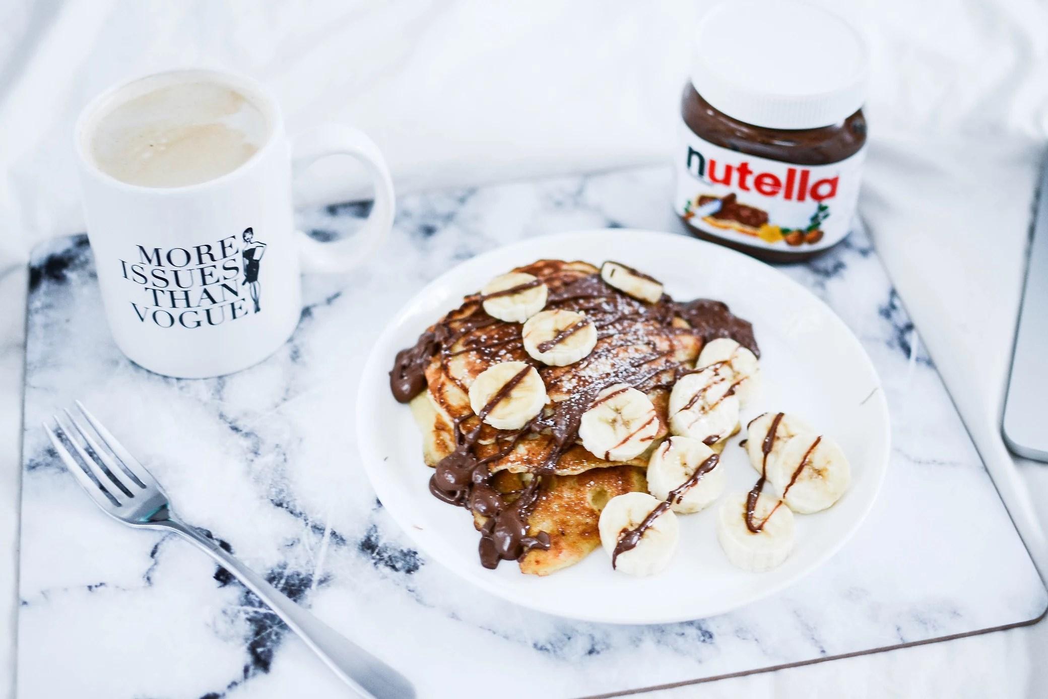 NUTELLA PANCAKES +