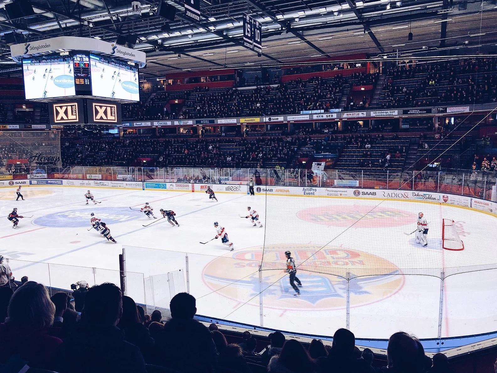hockey & burgare
