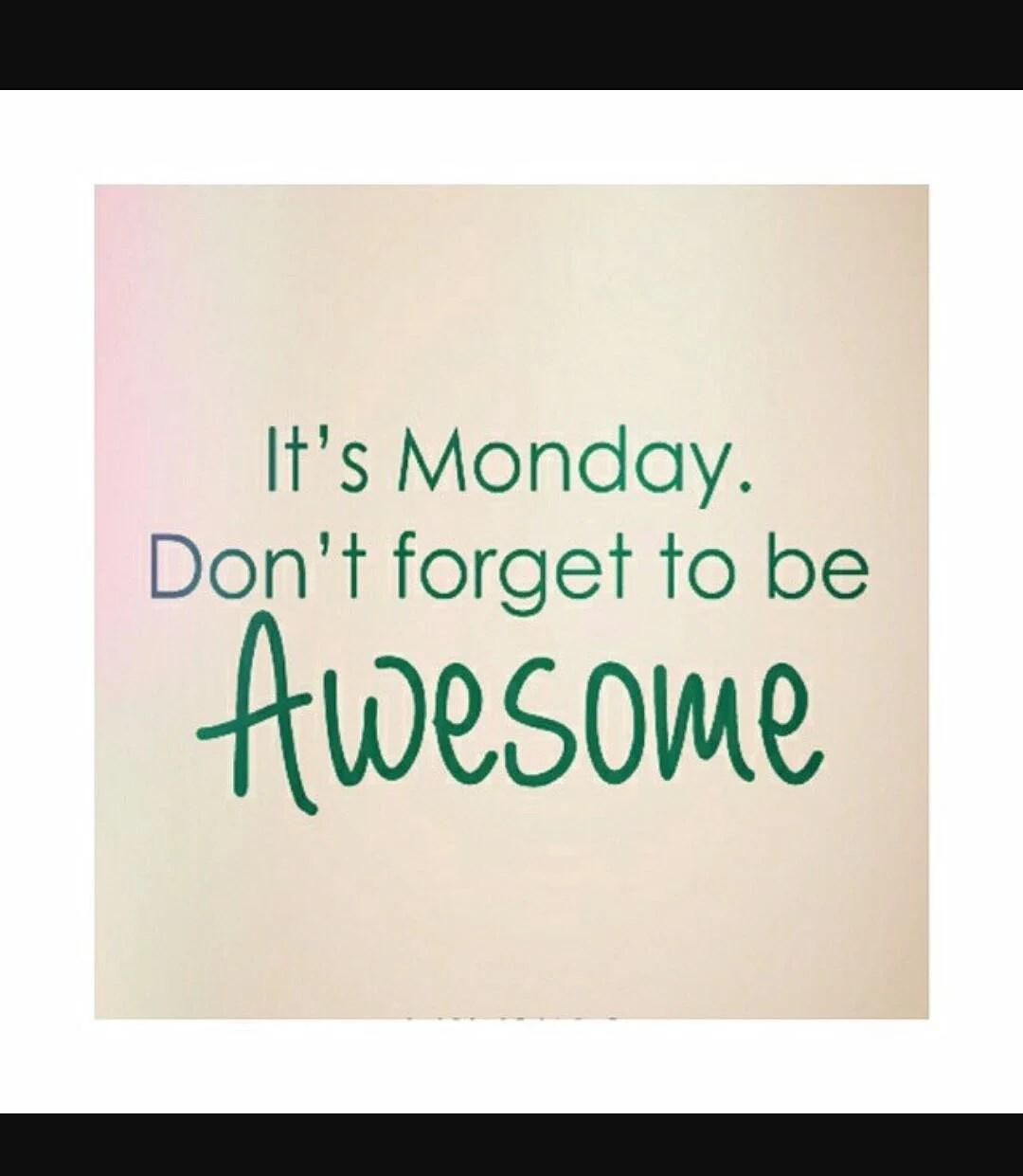 Det bästa med måndagar