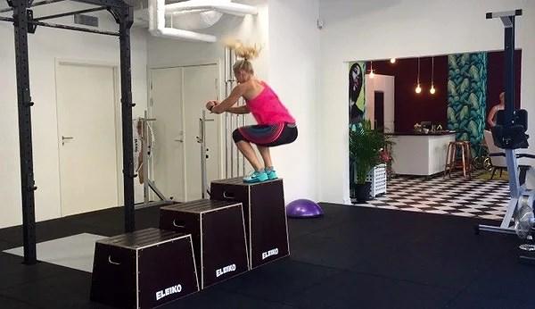 Veckans övning: box jump
