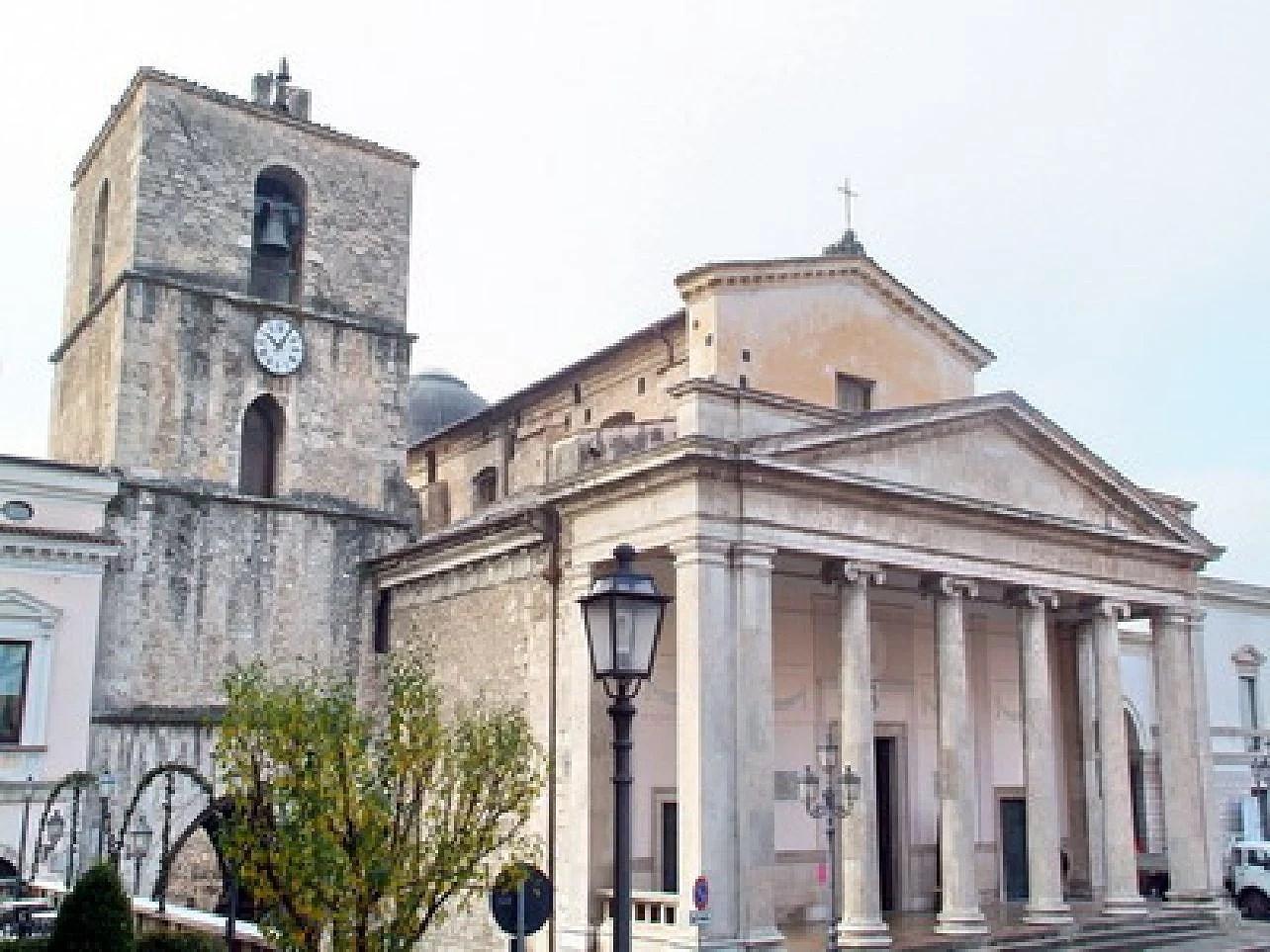 Isarnia i regionen Molise i Italien