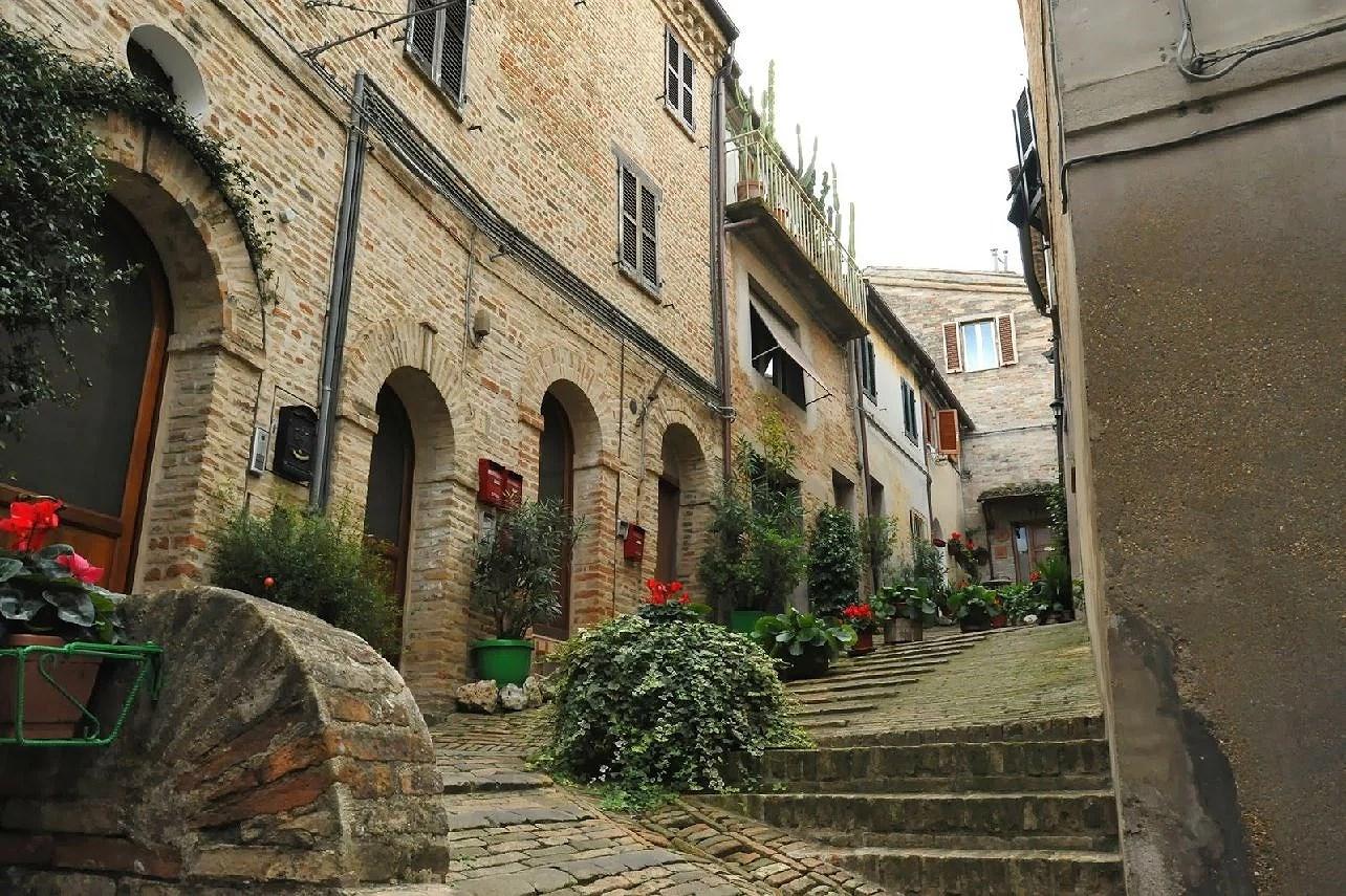 San Ginesio i regionen Marche i Italien