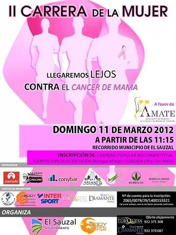 II Carrera de la mujer contra el cáncer de mama