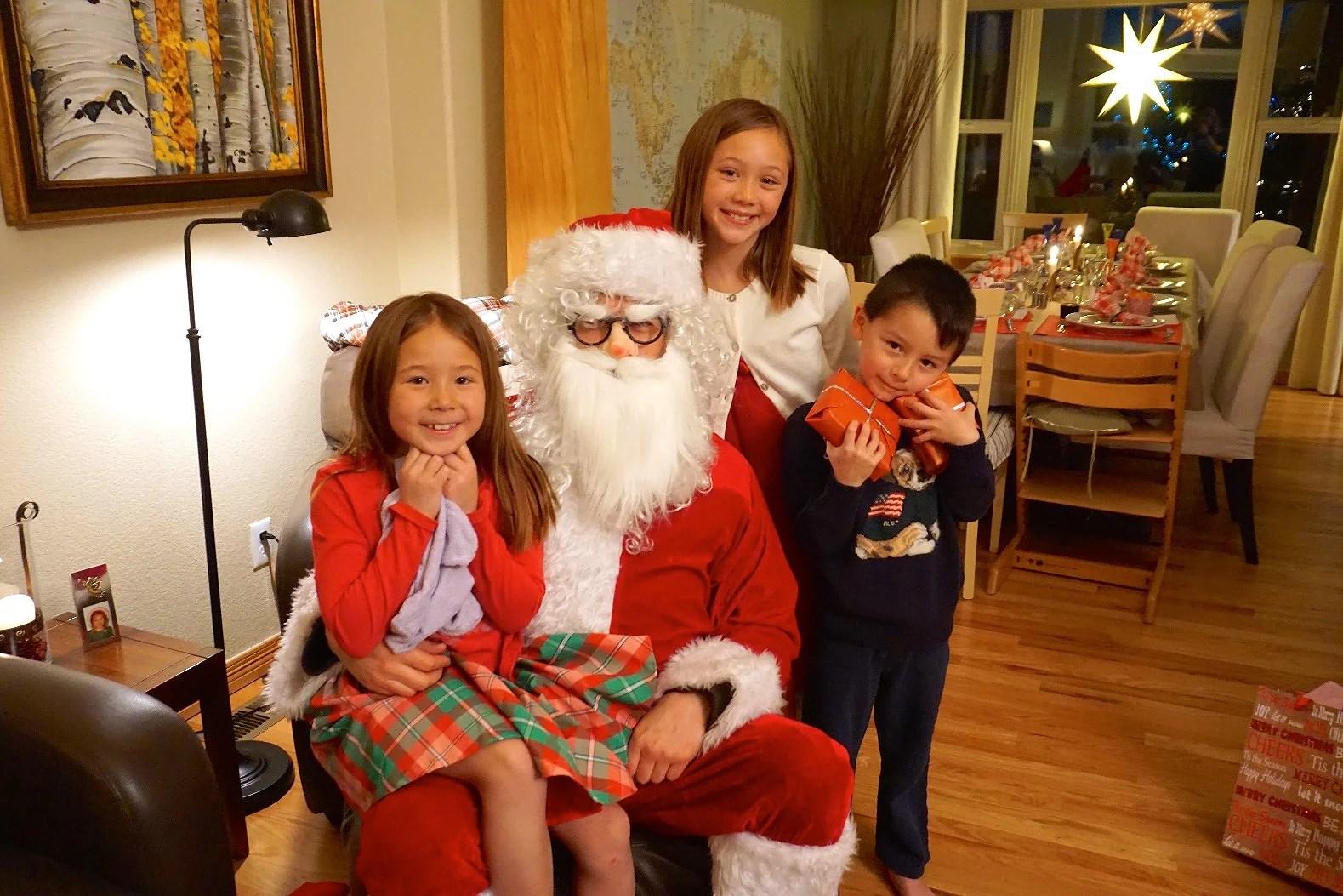 Julfirande i Parker