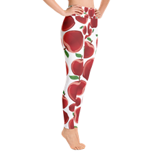APPLE FOOD - YOGA LEGGINGS