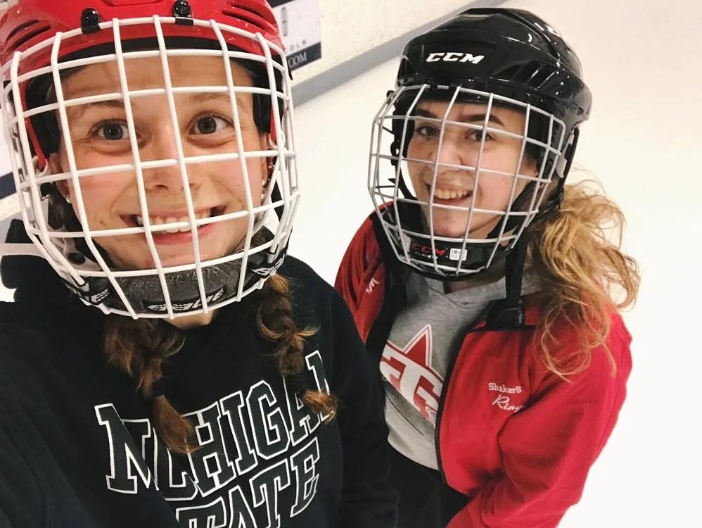 jag ska börja spela hockey!!