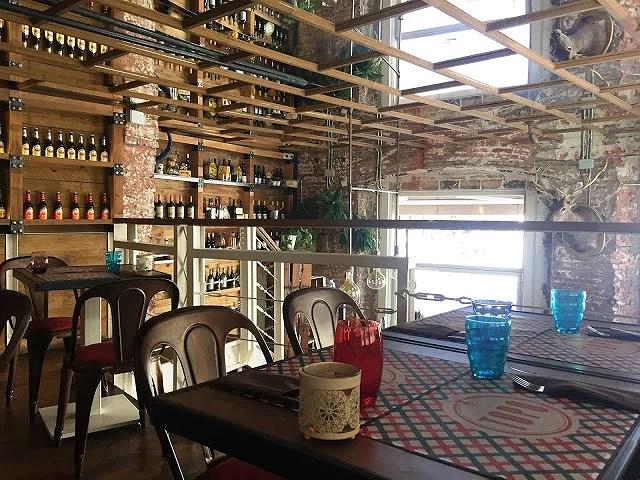 El topo: la comida italiana más rica de León