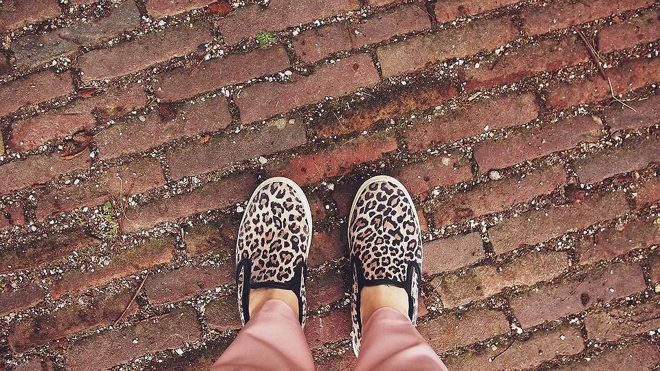 ¿Ya llevas animal print en tus pies?