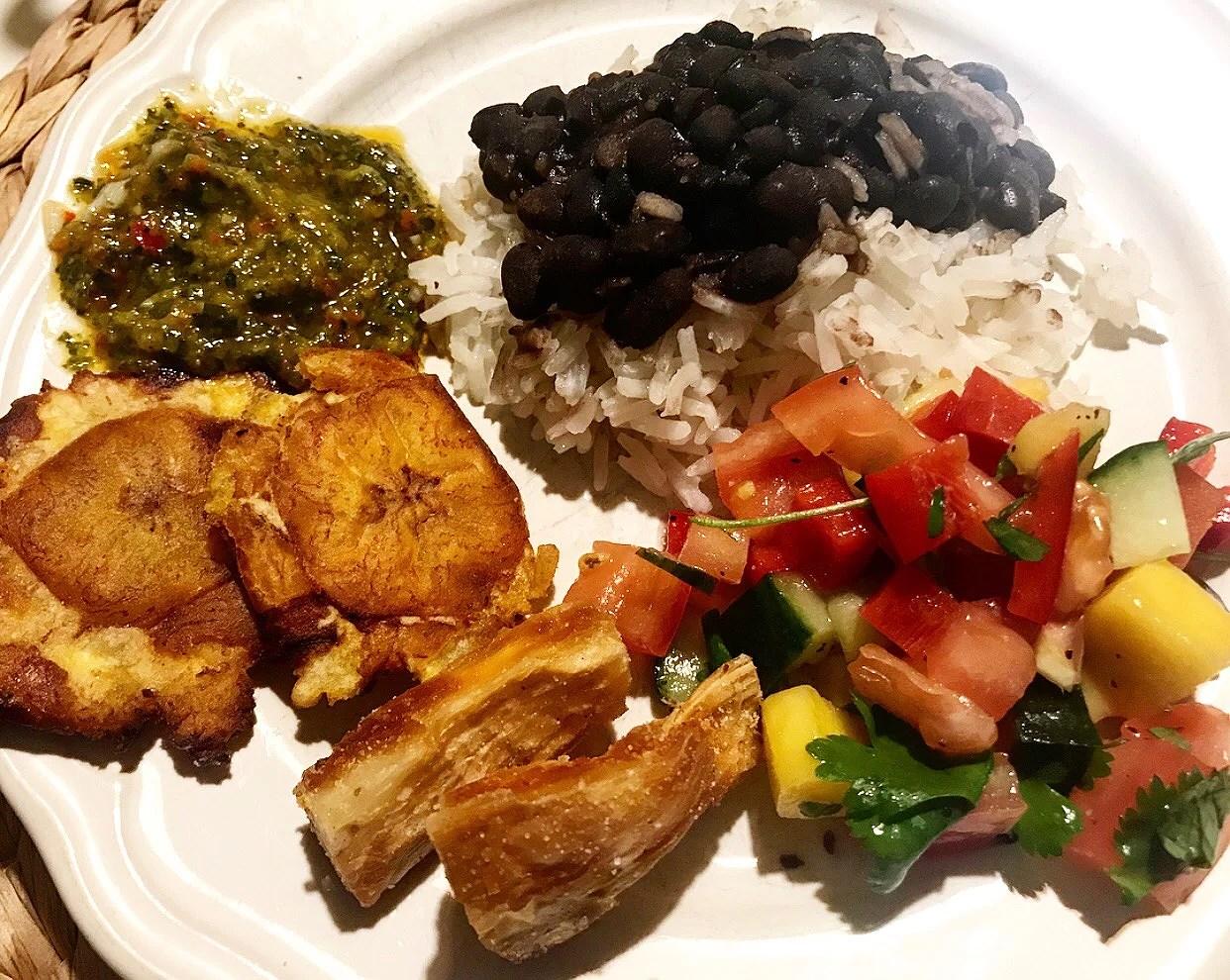 Karibisk mat på menyn