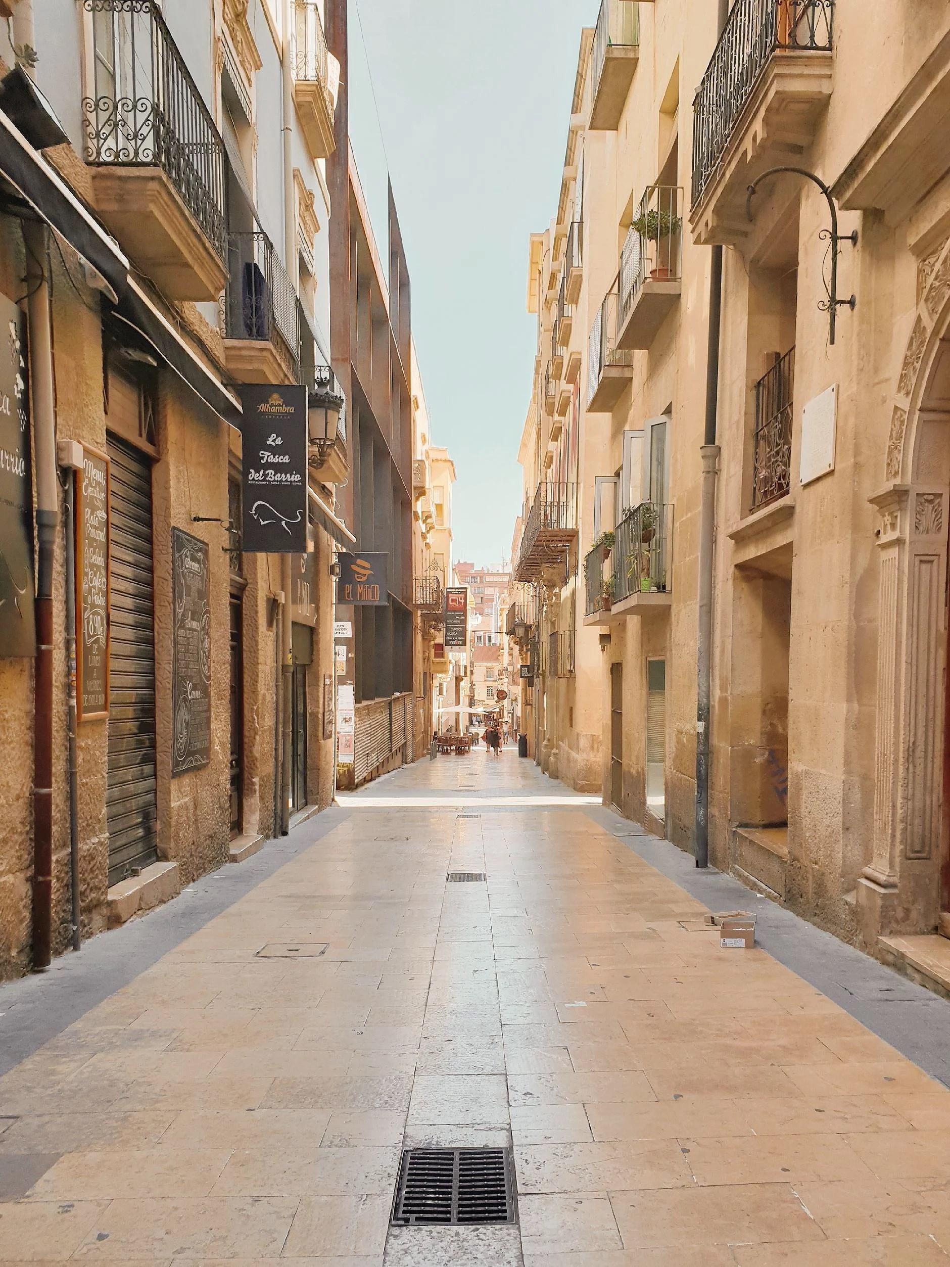 Spontanresa till Alicante