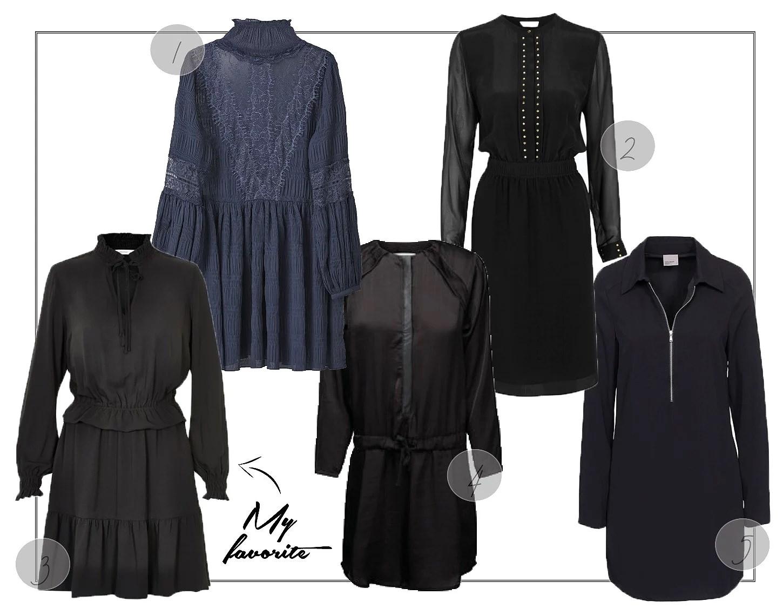 Wish list // 5 sorte hverdags-kjoler
