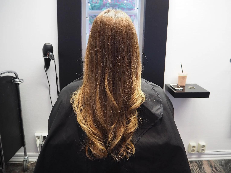 Pruta hos frisören