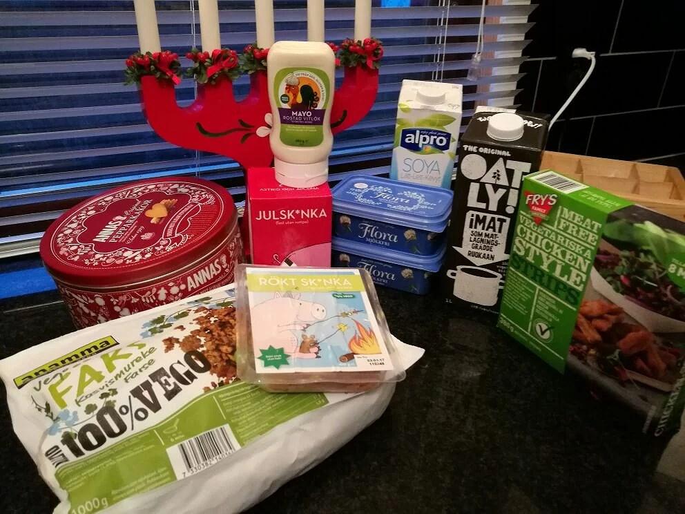 Vad veganer äter: