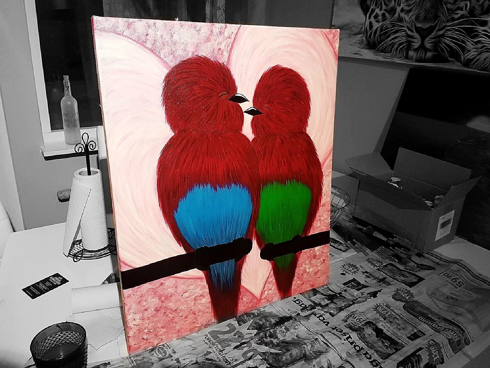 Lovebirds, finito!