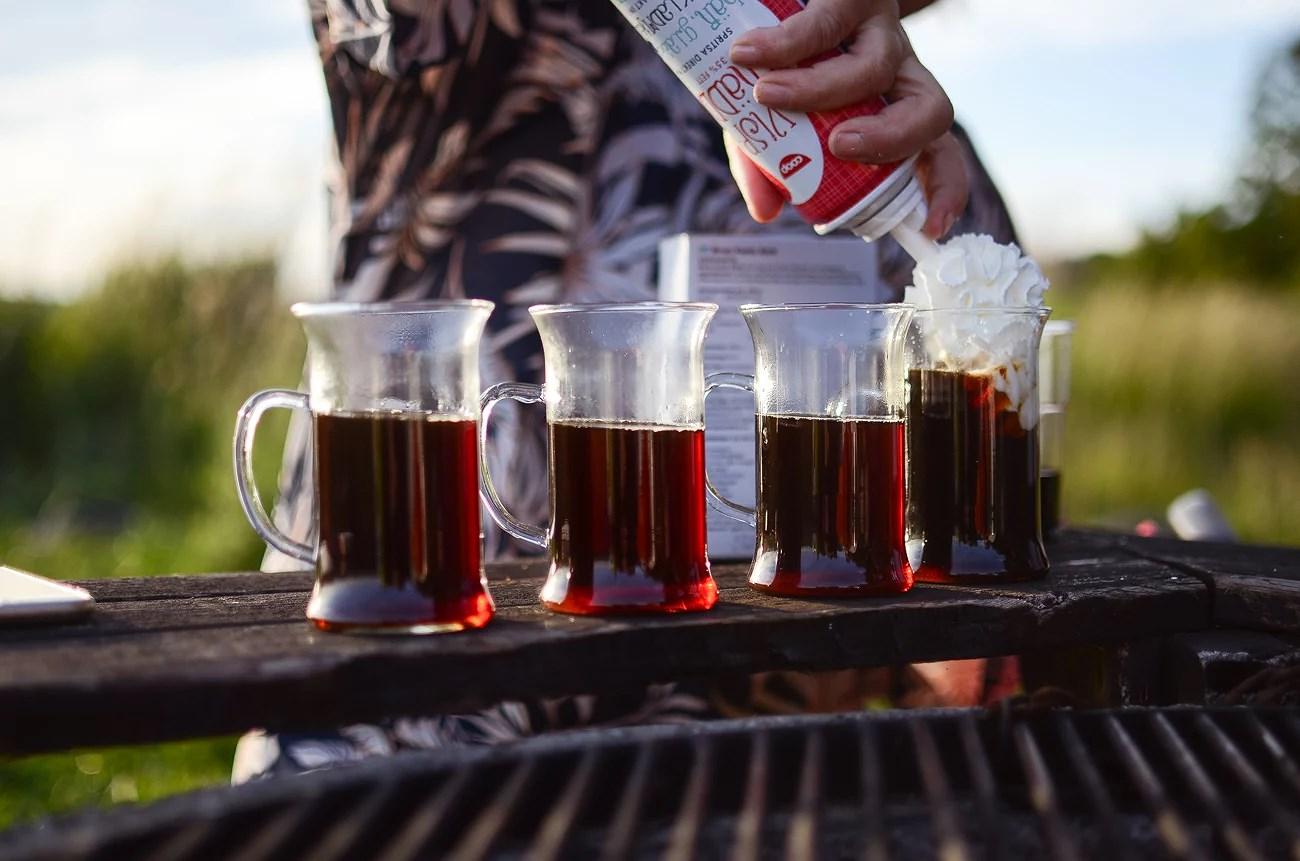 IRISH COFFEE VID PERSSONS BRYGGA