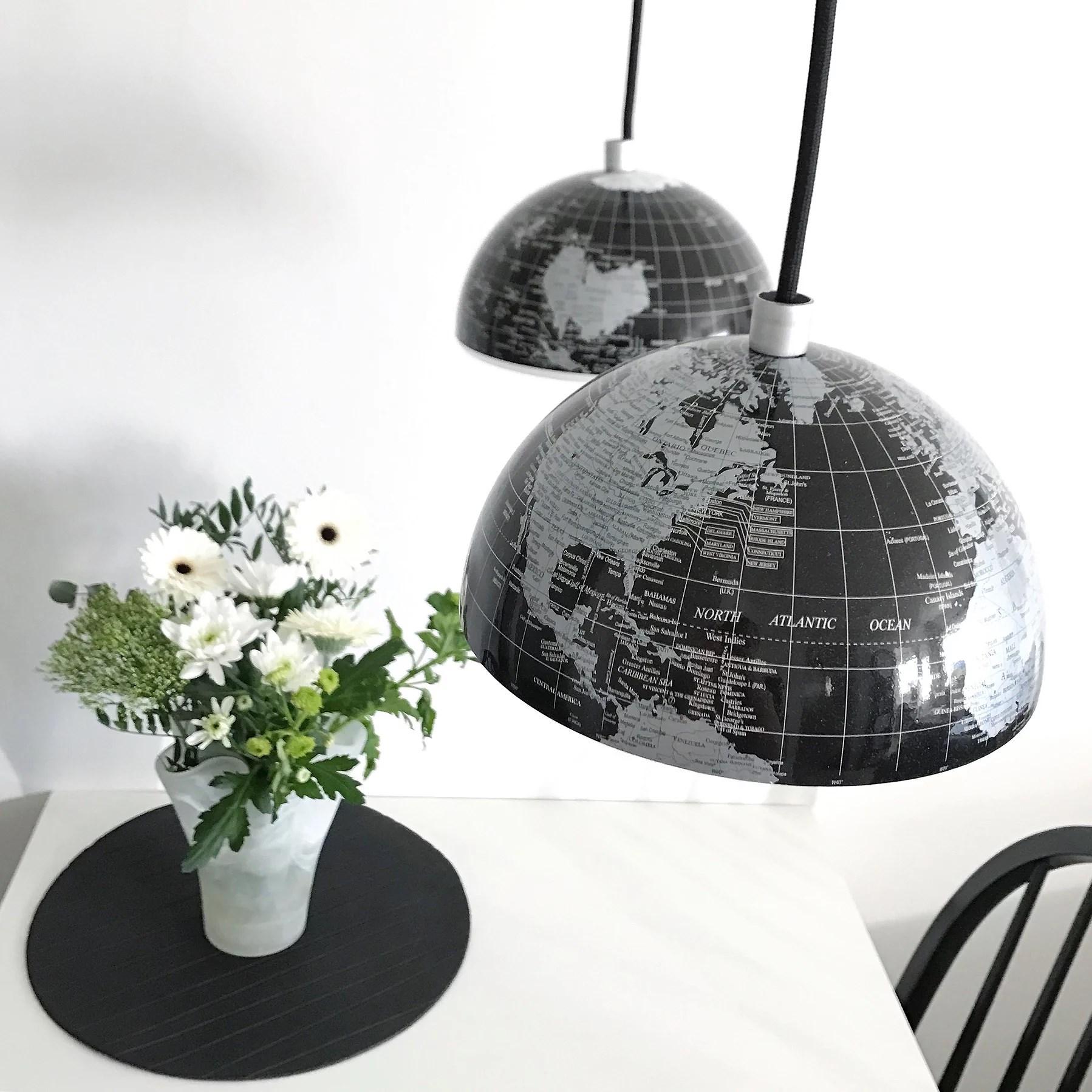 Jordglobs-lampor
