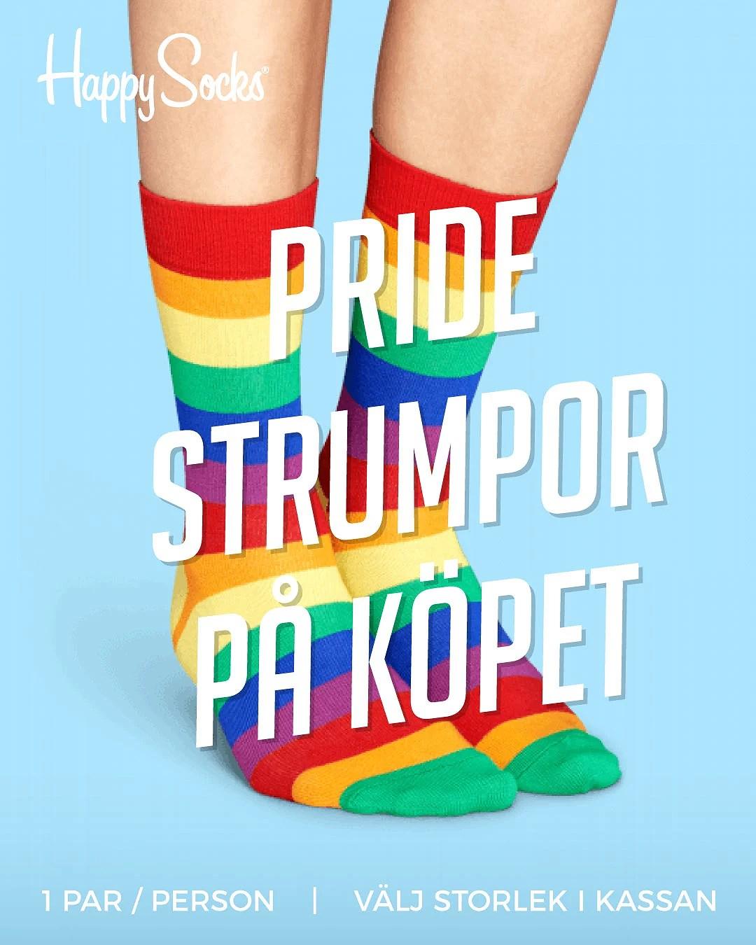 Få Pridestrumpor på köpet hos Buyersclub