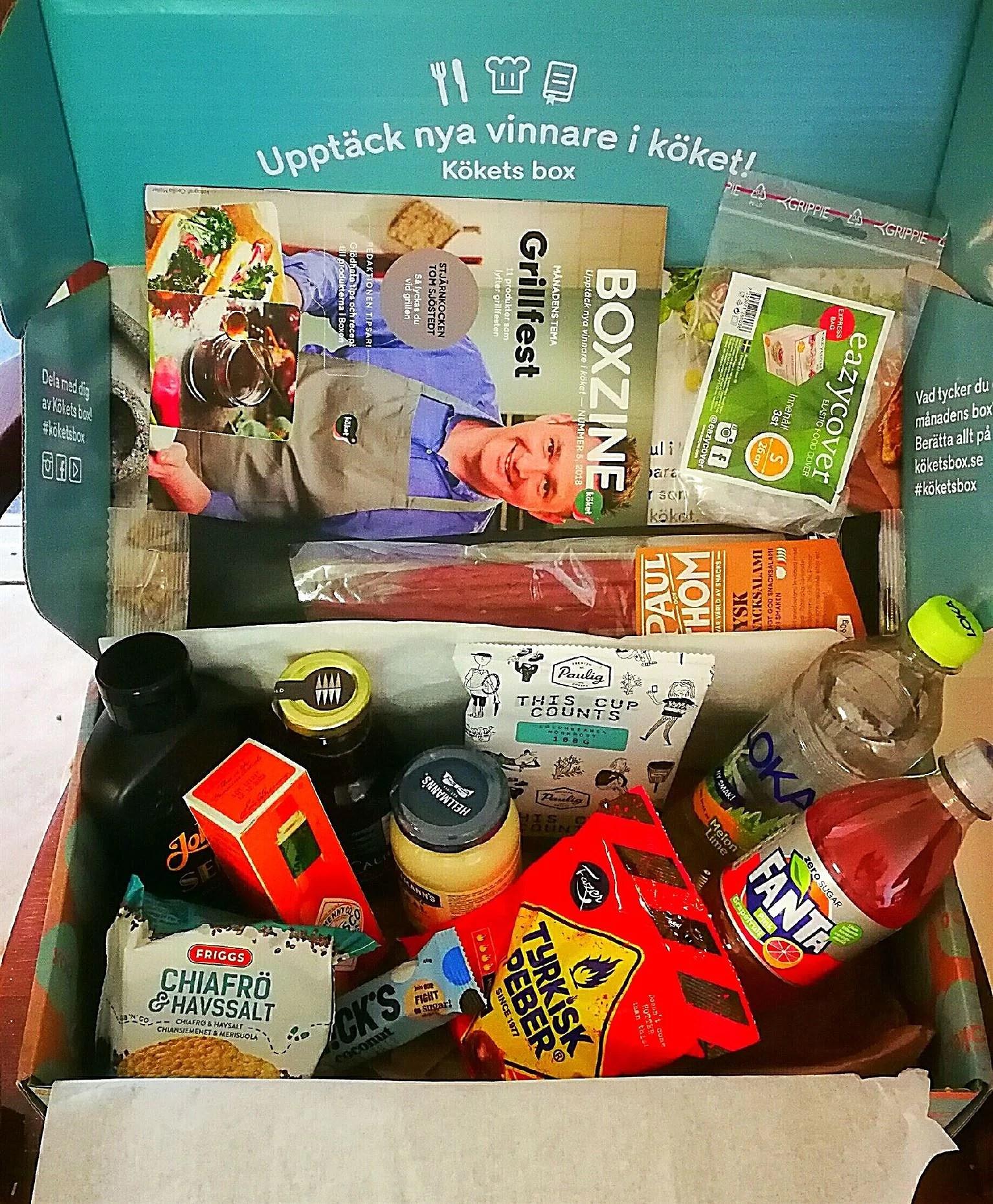 Kökets box för 69 kr