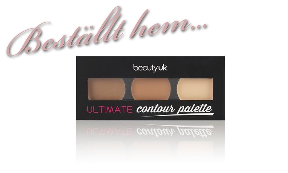Beställt hem - Beauty UK Ultimate Contour Palette