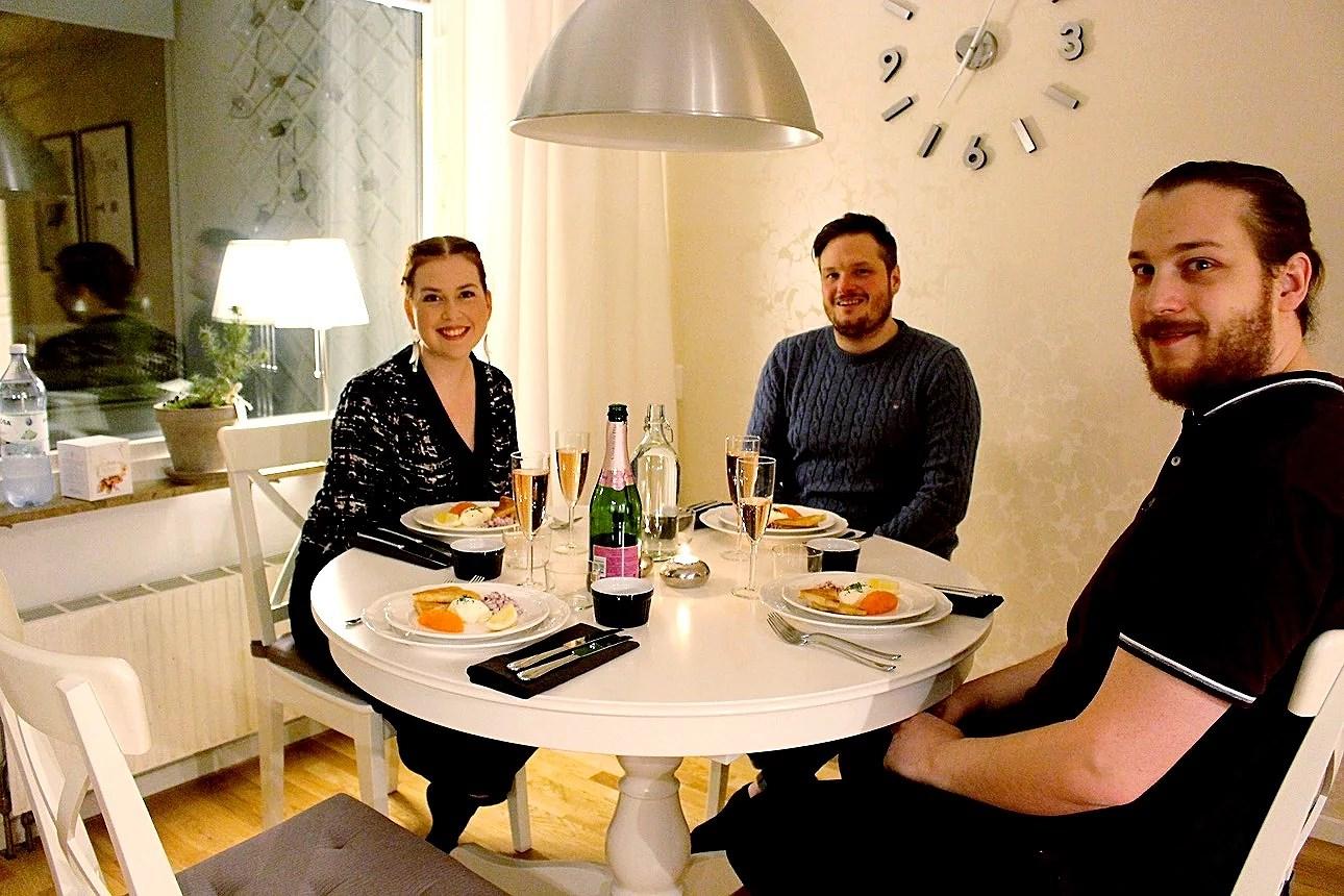 Trevligt middagssällskap