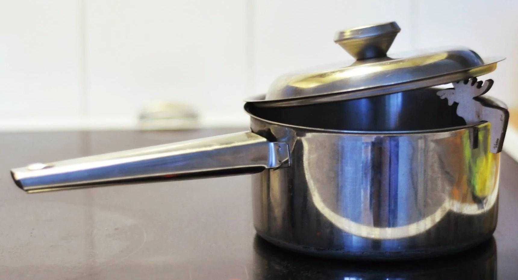 Supersmart detalj: Det kommer aldrig mer koka över!