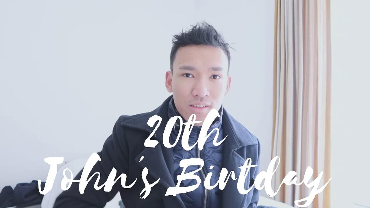 Vlog: Thun, Bürgenstock, IKEA, Switzerland, 20th Birthday | John Mendoza