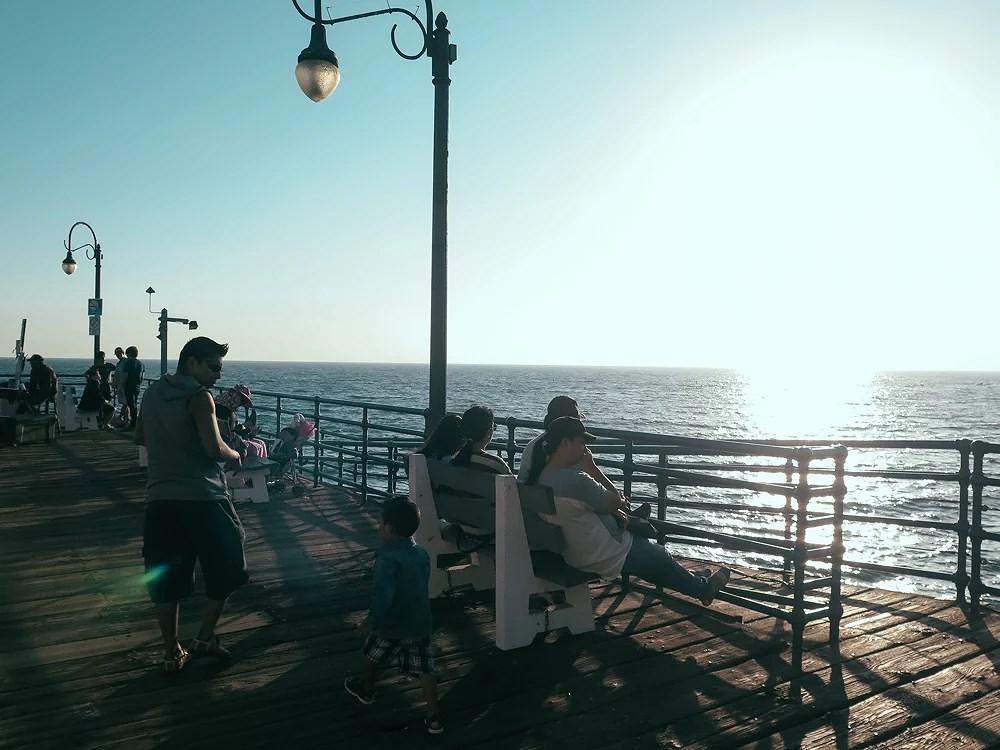 Santa Monica tour and sunset