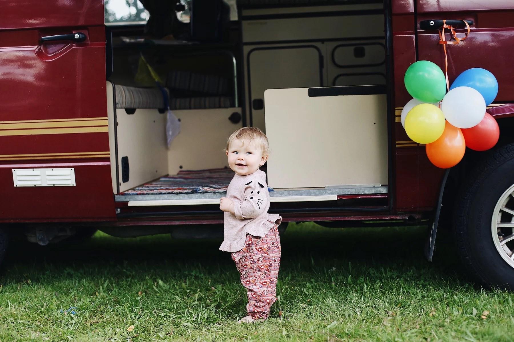 Sigrid 1 år