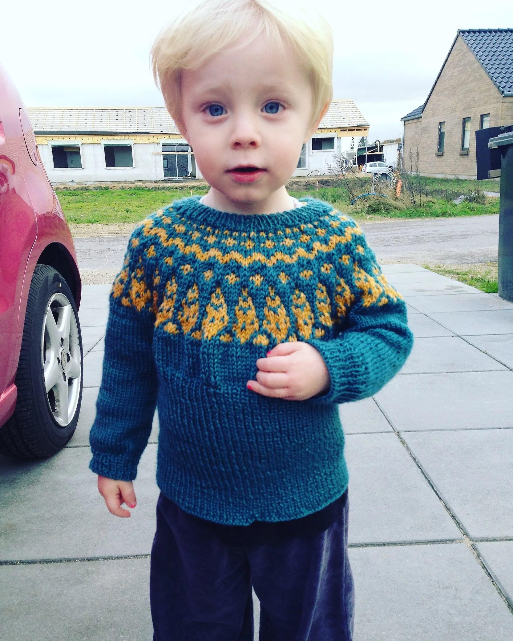 Drengen med de blå øjne