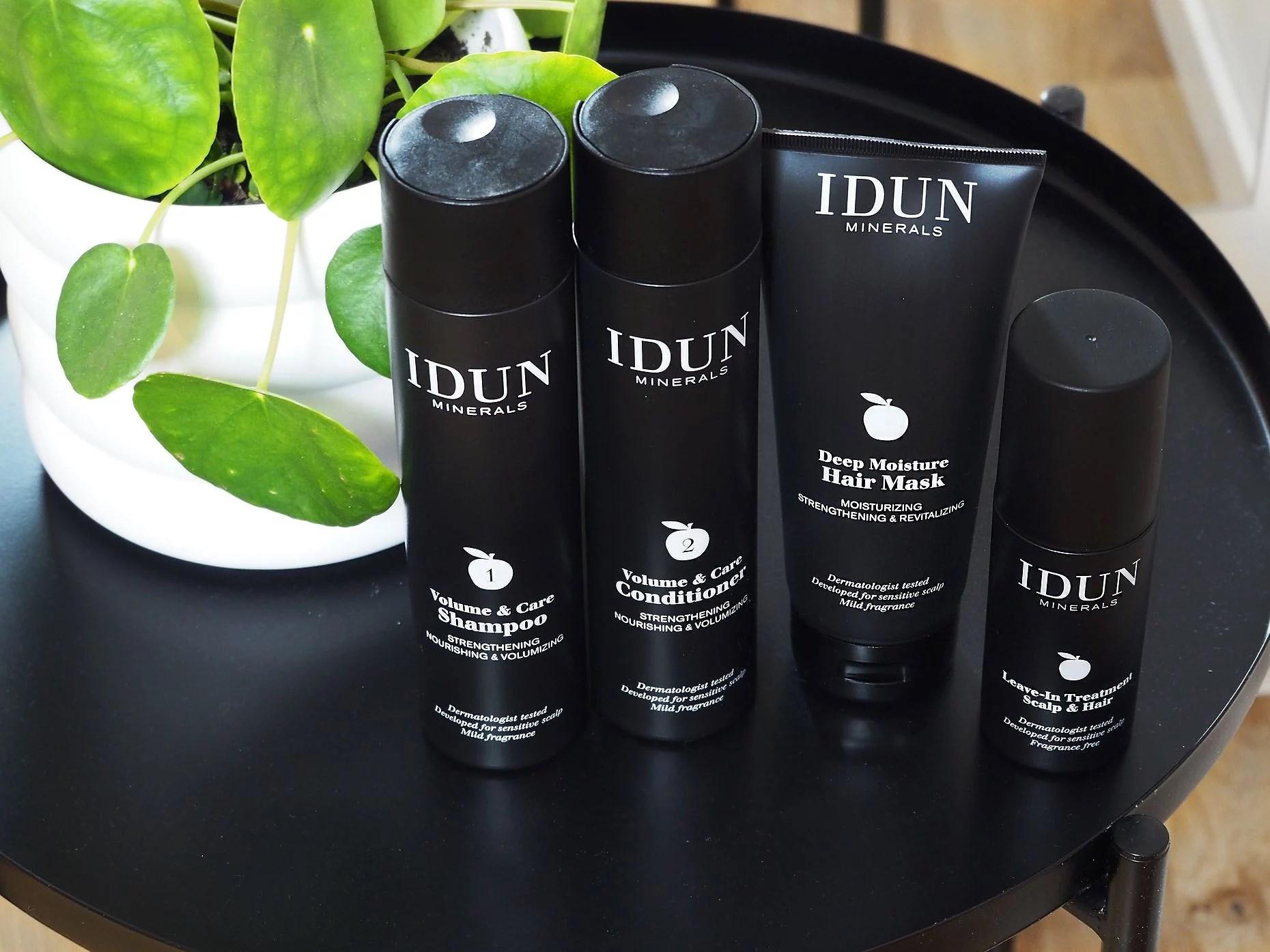IDUN MINERALS HAIR PRODUCTS
