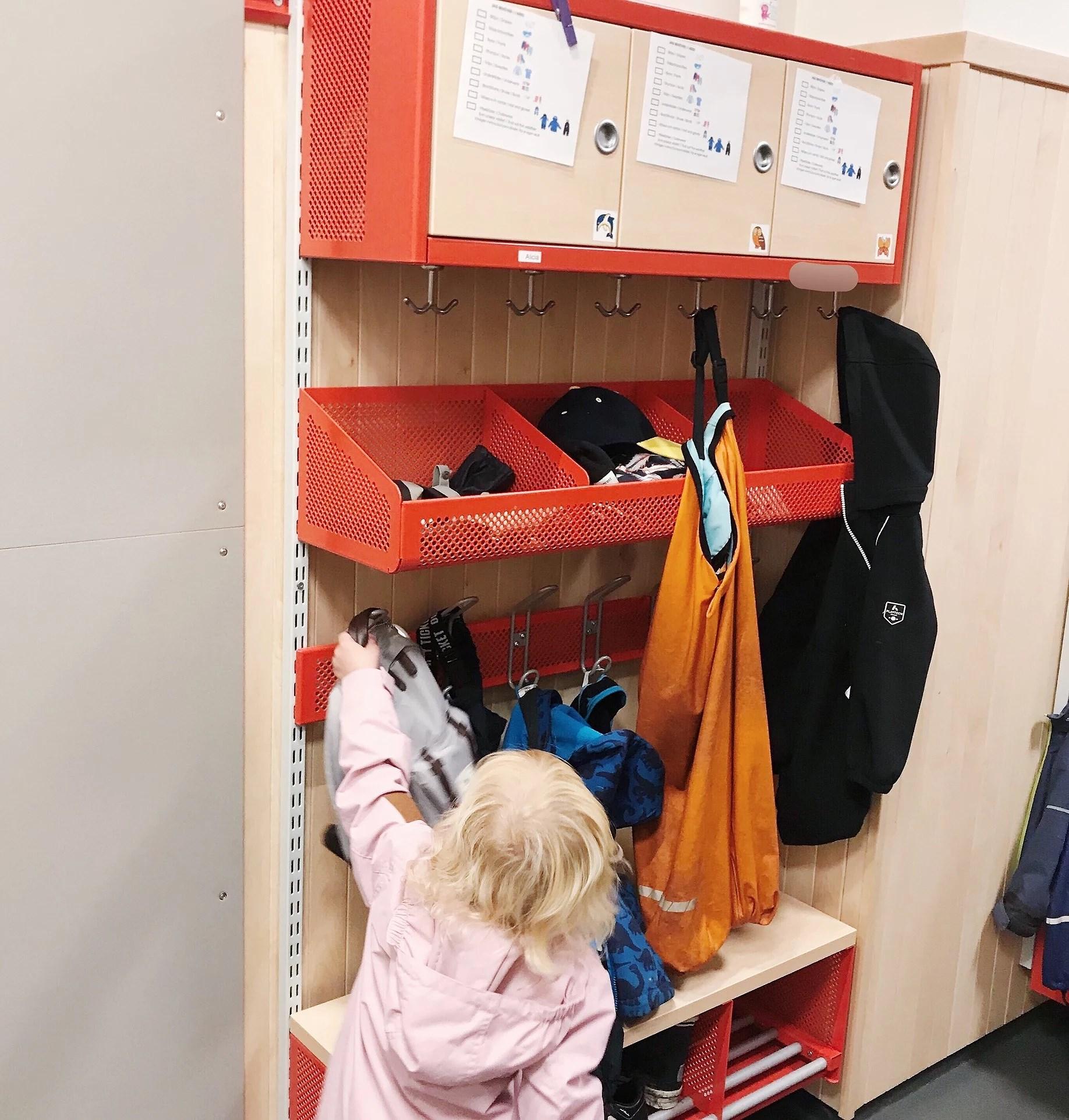De första dagarna med inskolning