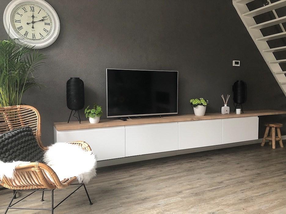 Wonderbaar Ikea hack als perfecte tv meubel. | Homeofsha CL-43