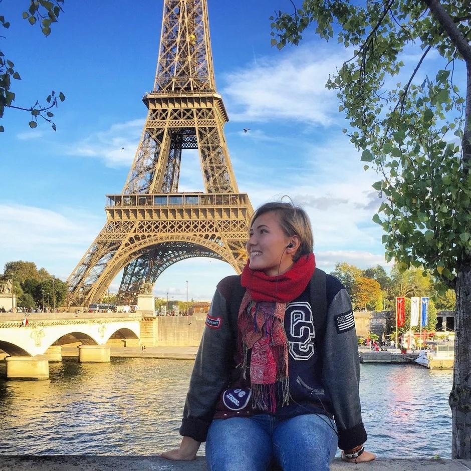 Höst och vackra vyer i Paris