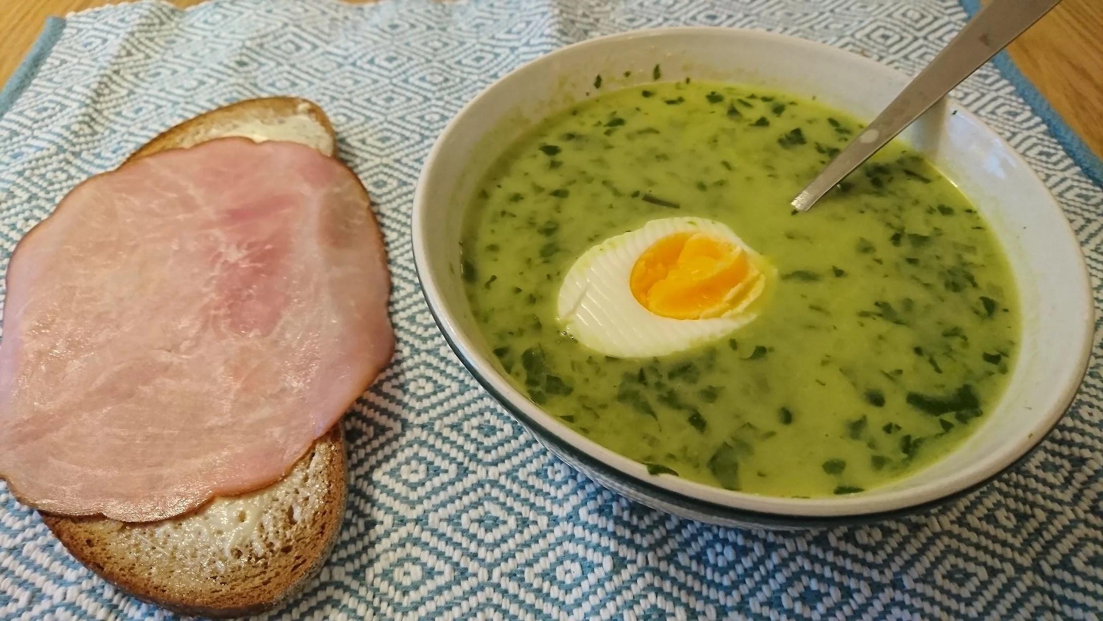 När man har lite kcal kvar på kvällen, är soppa toppen!