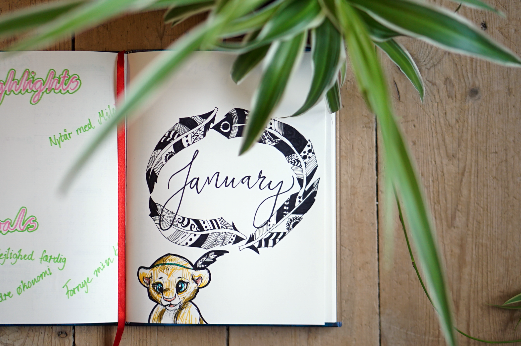 Bullet Journaling: January Pages (2018 Makeover)