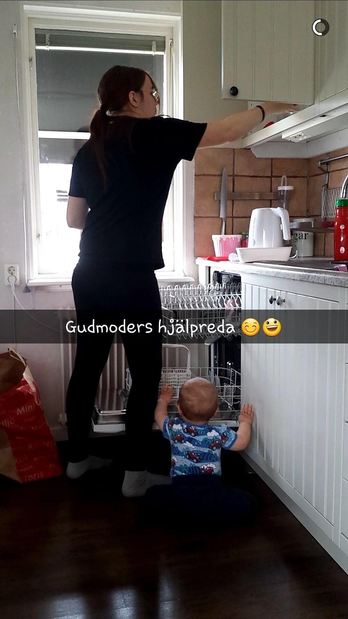 MIN FAMILJ VAR PÅ BESÖK!