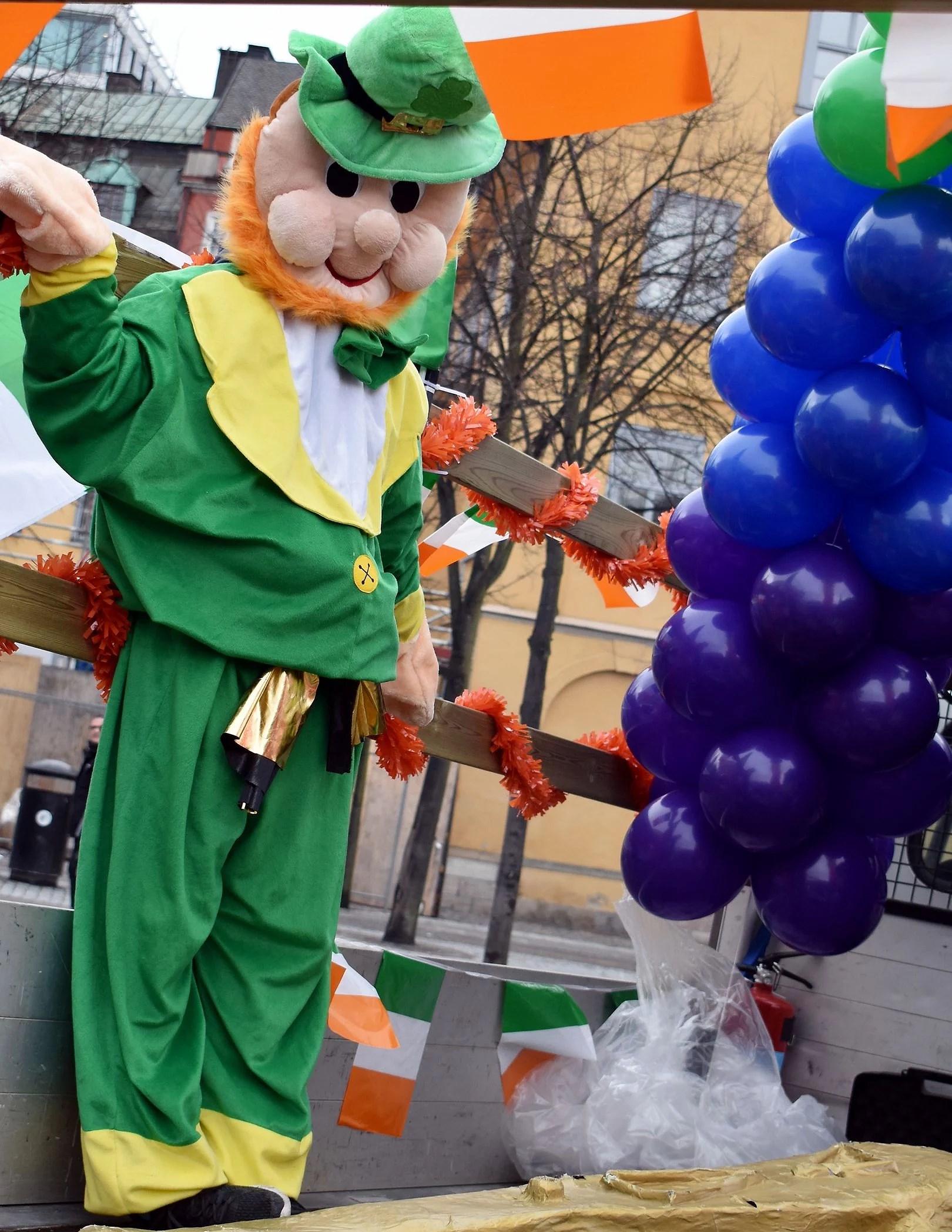 Firande av St St Patrick's day!