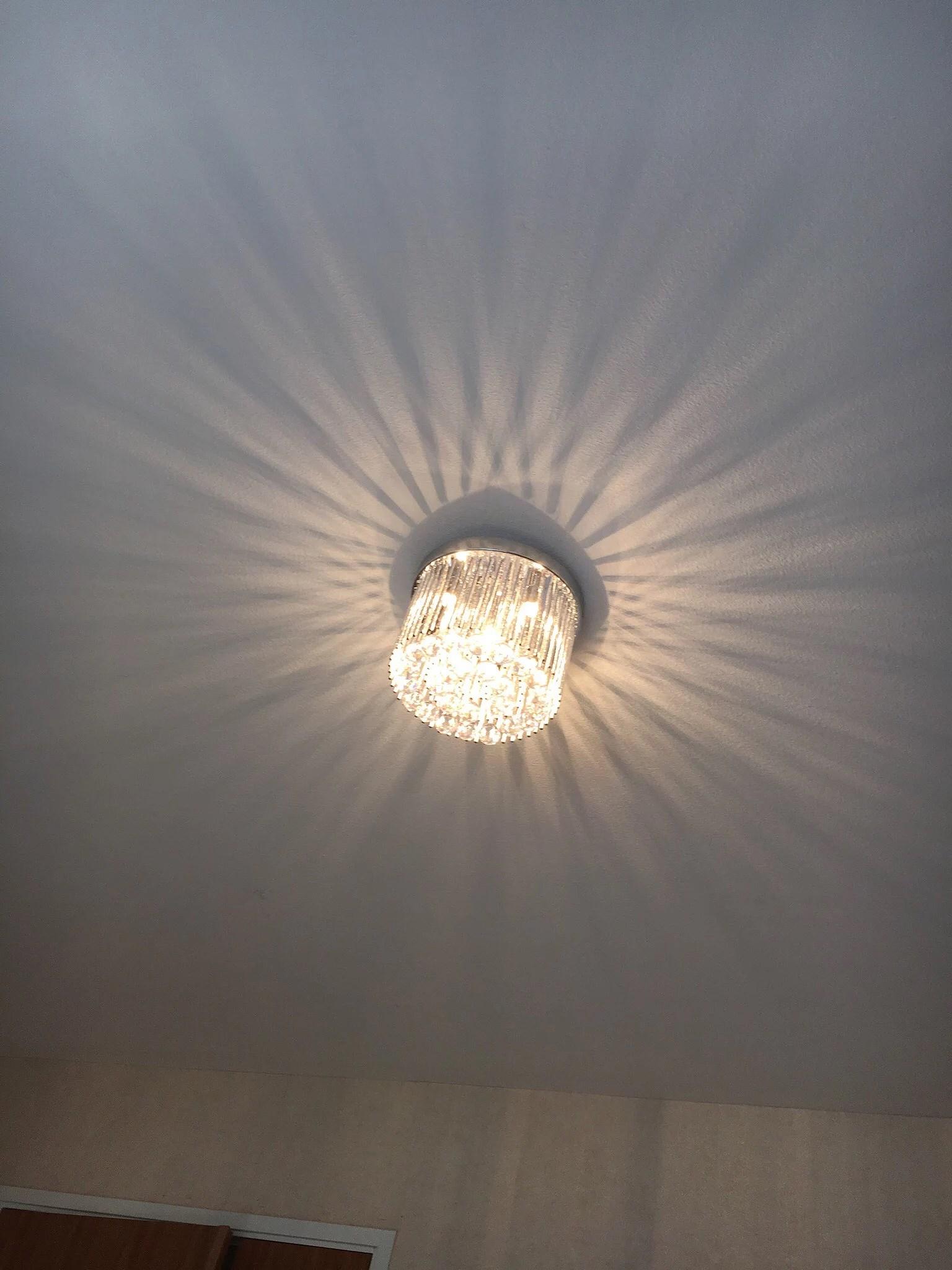 Vår nya lampa