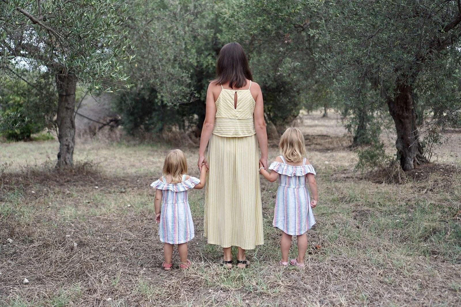 Bland olivträden