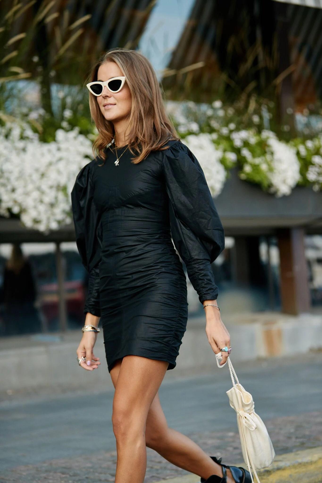 Dressed in black!