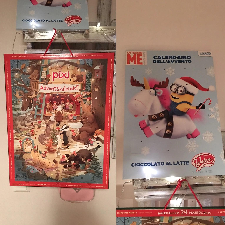 Julkalendrar och tvätt