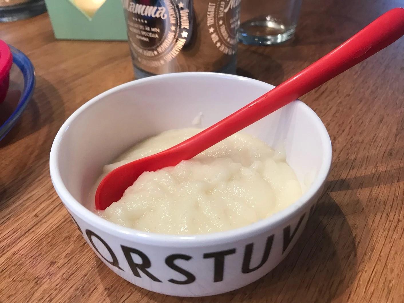 Hemmagjord mjölkfri gröt