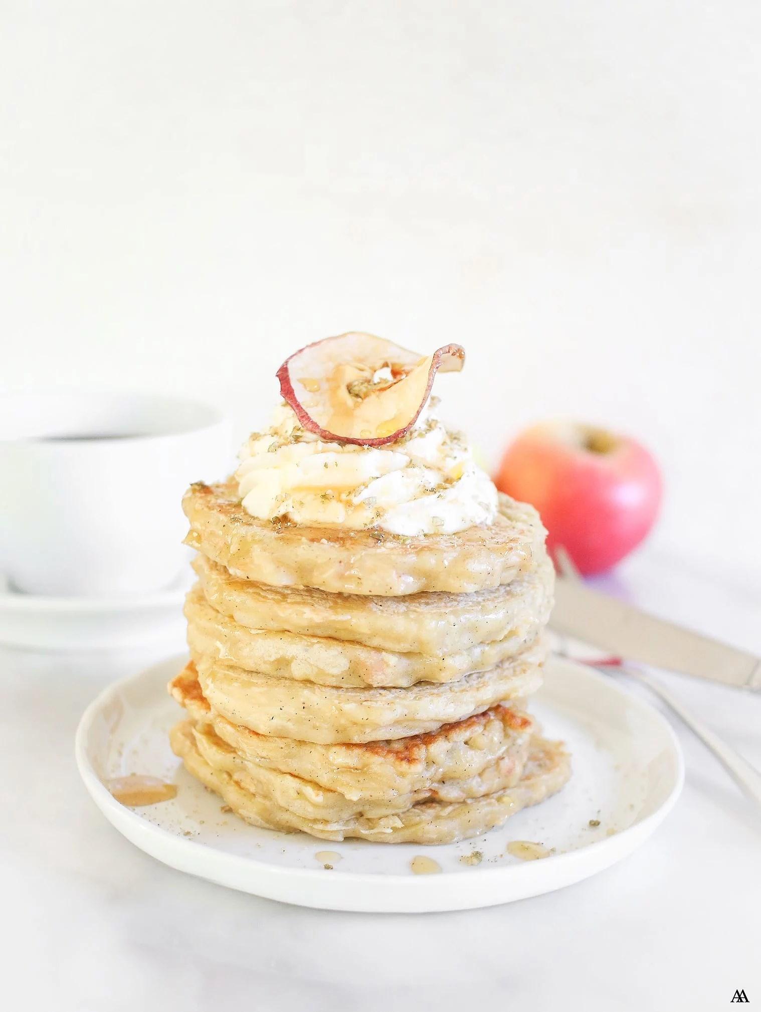 Äppelpannkakor