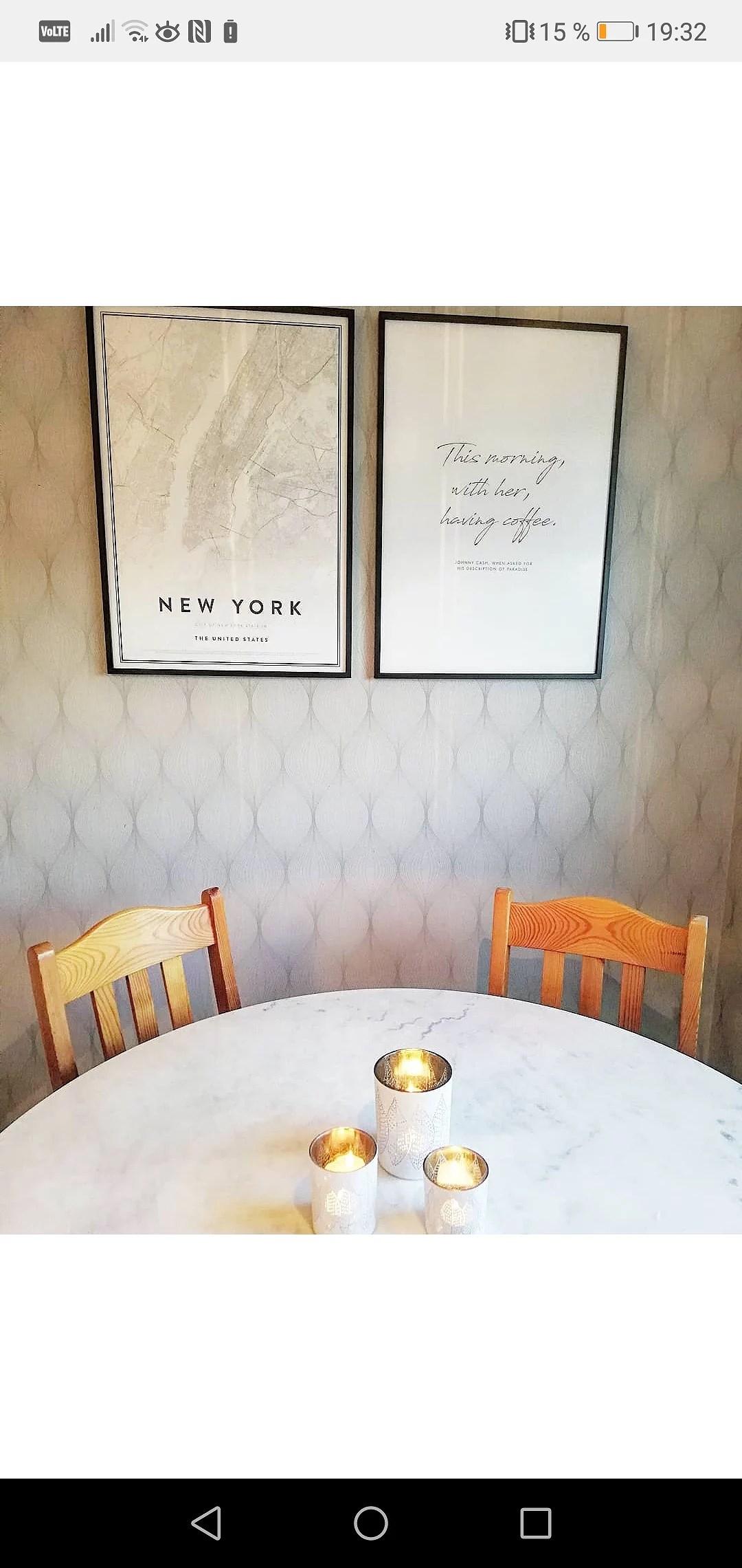 före/ efter i köket