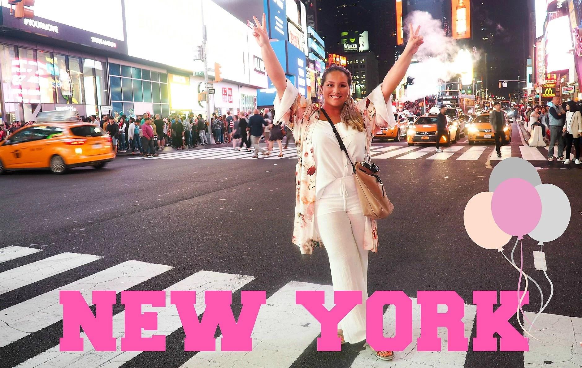 VIDEOBLOGG: NEW YORK